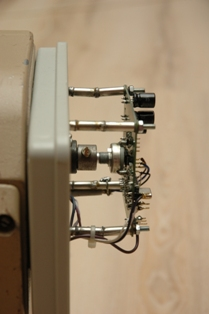 Установка блока контроля элевации поворотного устройства УН16