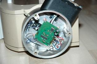 Установка блока контроля азимута поворотного устройства УН16